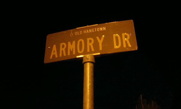 old-hangtown-armory-dr-sign